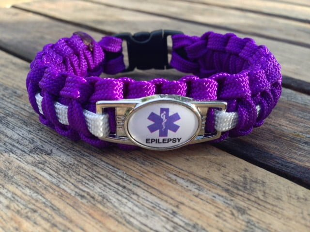 Handmade By Heroes Paracord Epilepsy Identification Bracelets Support Our Veterans Purchase A Bracelet Today